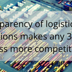 Transparency of logistics ops makes any 3PL business more competitive