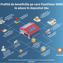 Profitați de beneficiile pe care le aduce FluxVision WMS în depozit