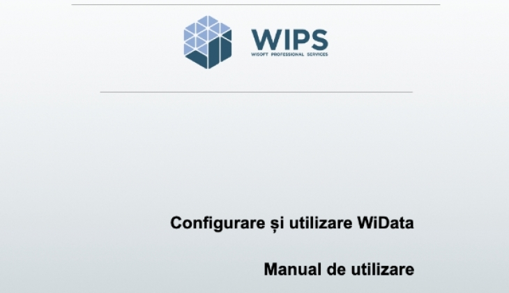 Configurare și utilizare WiData