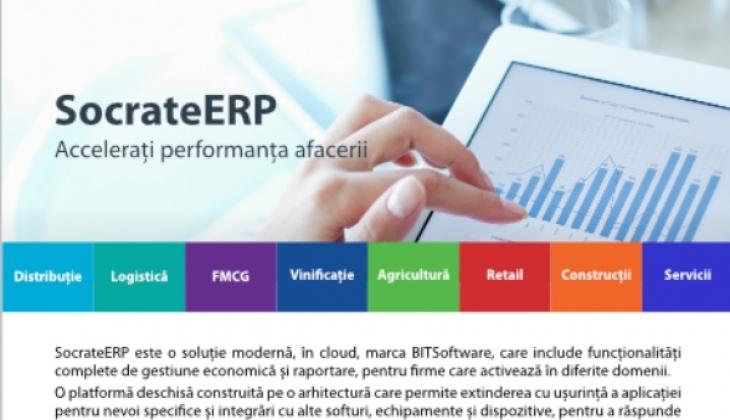 SocrateERP – Accelerați performanța afacerii