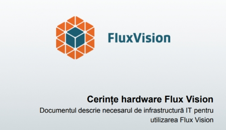 Whitepaper – Cerințe hardware FluxVision WMS