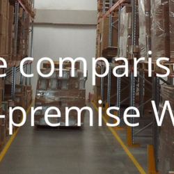 An objective comparison between cloud and on-premise WMS solutions