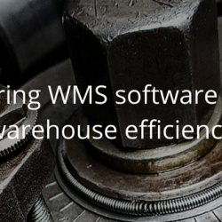 Manufacturing WMS software to increase warehouse efficiency