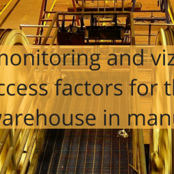 Real-time monitoring and vizualization, success factors for the modern warehouse in manufacturing