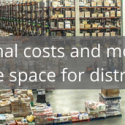 Reduced operational costs and more efficient use of storage space for distributors