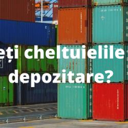 Vreți să reduceți cheltuielile logistice și de depozitare?