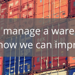 Do you manage a warehouse? Let us show you how we can improve your activity!